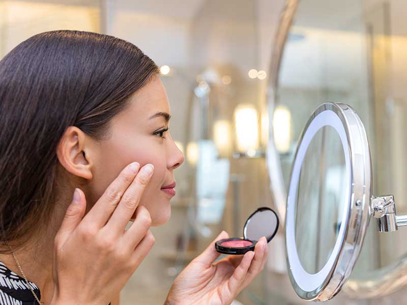 Cosmetics formulation - Blush