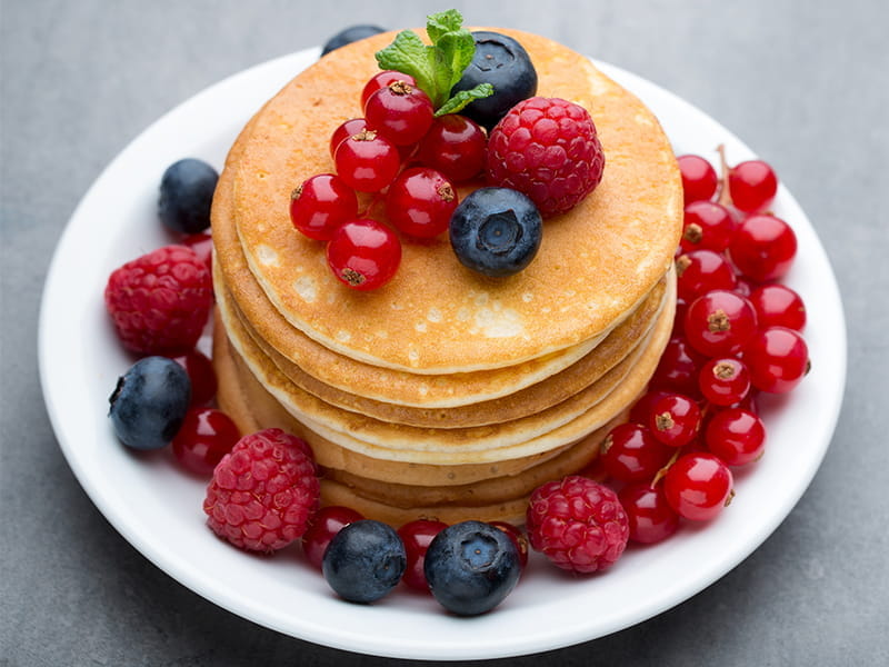 High-protein pancake mix -