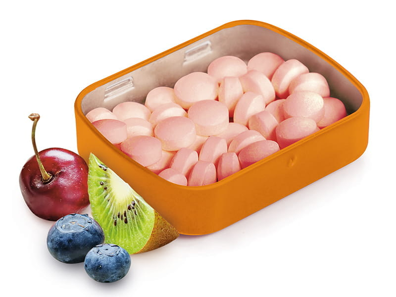 Sweet'n tasty tutti-frutti mints