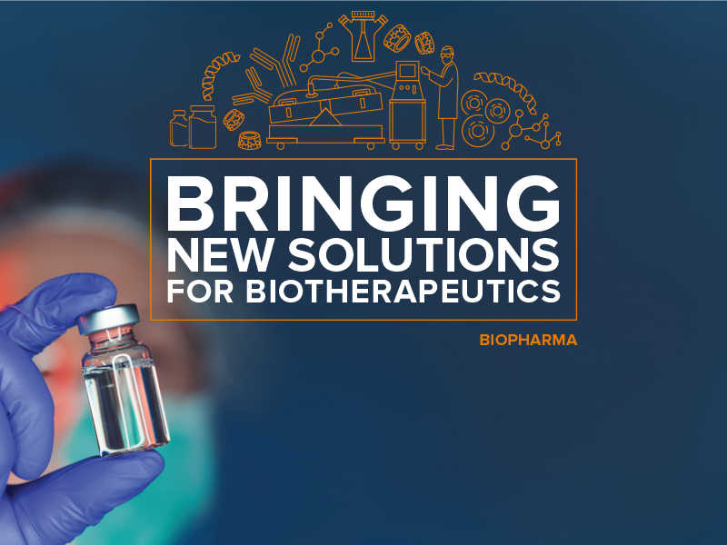 New solutions for biotherapeutics