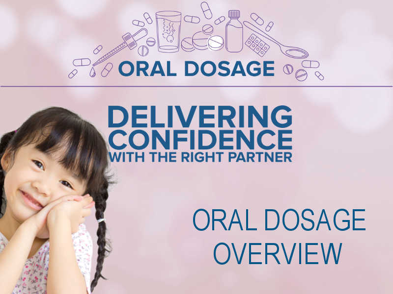 pharma oral dosage girl