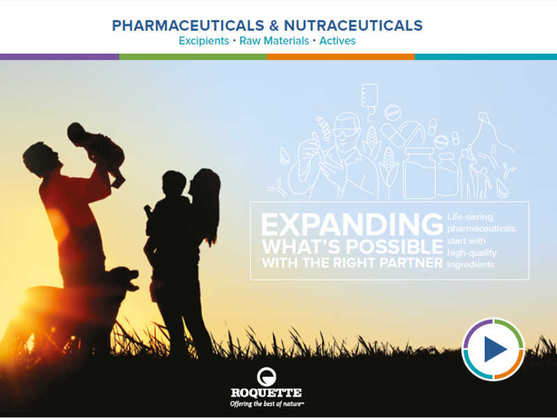 Product catalogue: Pharmaceuticals & Nutraceuticals