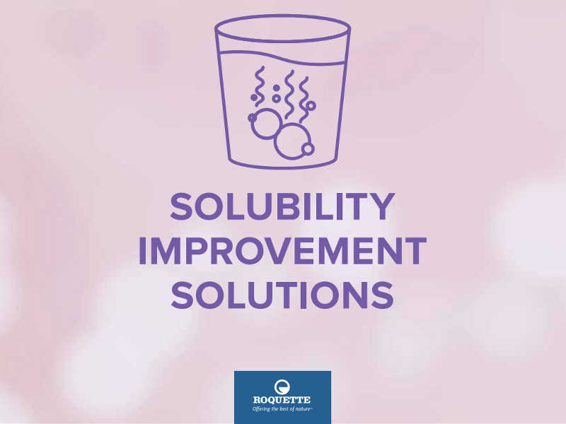 Solubility improvement solutions