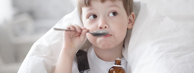 pharma-oral-dosage-forms-syrup-little-boy