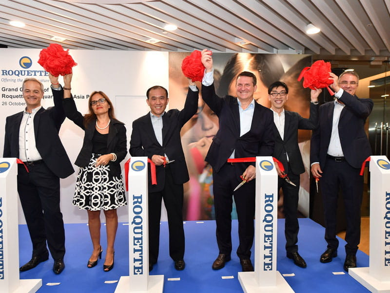 Opening: Asia Pacific Headquarters and Innovation Centre in Singapore
