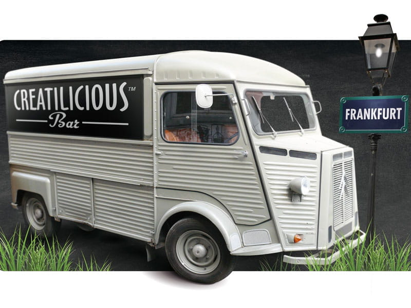 Roquette's CREATILICIOUS™ BAR on wheels for FIE 2017!