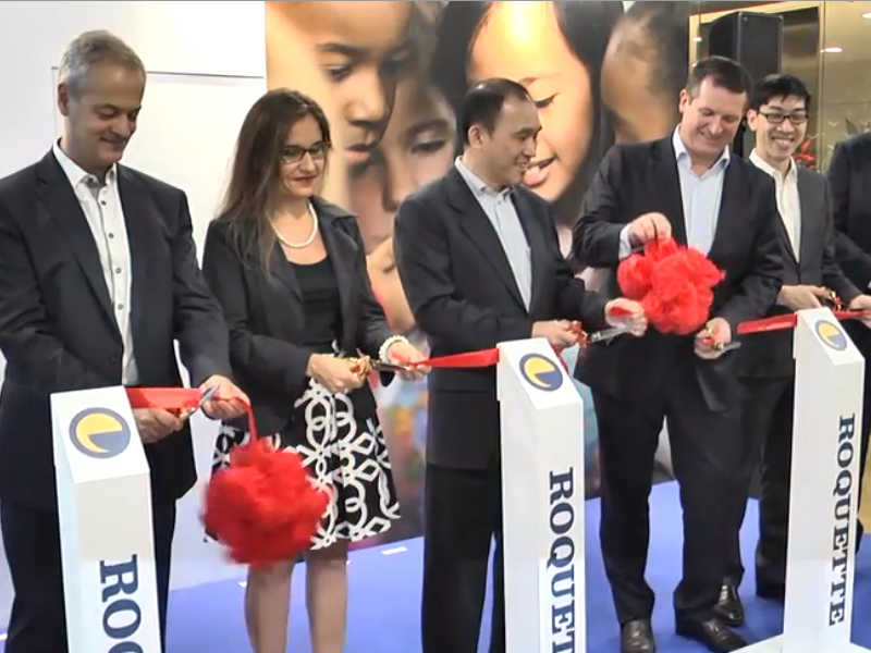 Inauguration of Roquette Asia Pacific Headquarters and Innovation Centre in Singapore