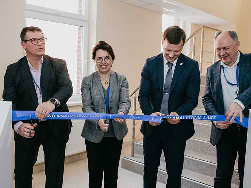 Roquette opens new R&D Laboratory premises in Lithuania