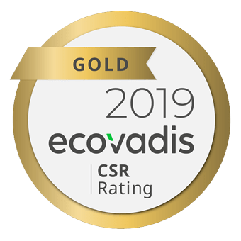 Roquette Gold Ecovadis rating 2019
